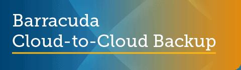 barracuda cloud to cloud backup